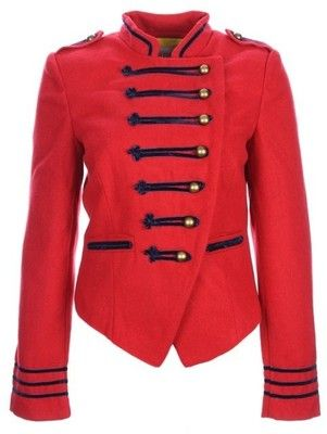 Red English Military Jacket | Stuff I want | Pinterest | Military ...