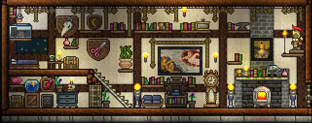 Terraria Bedroom