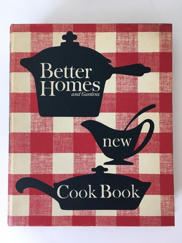 better homes and gardens new cookbook 1965 8th printing 5 ring