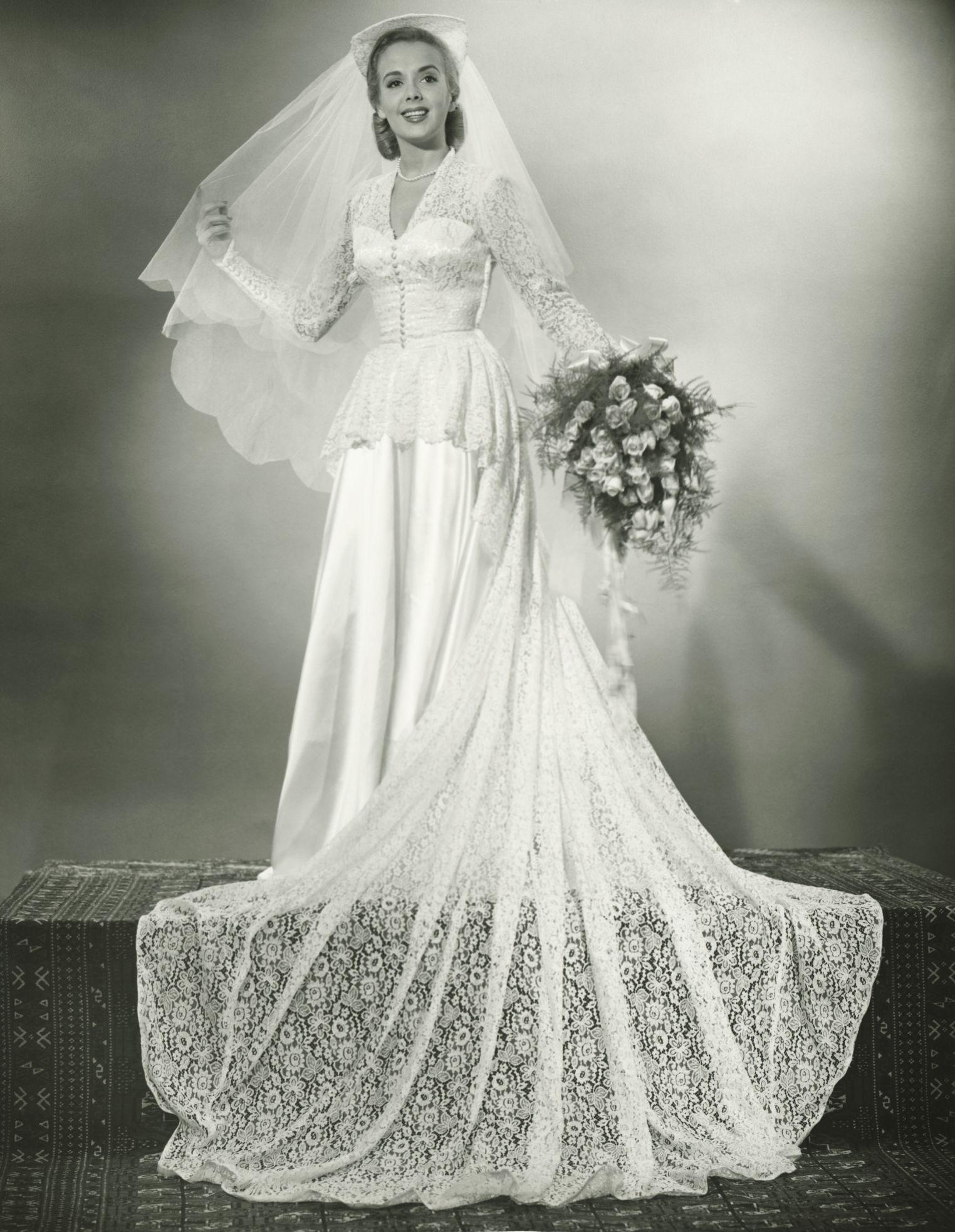 How wedding dresses used to look i do pinterest wedding