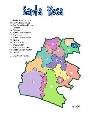 Departamento De Santa Rosa Guatemala Mundo Hispánico