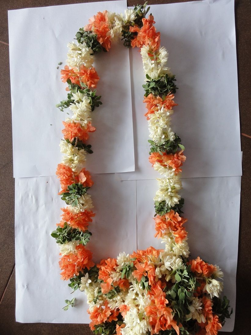 Wedding Garlands Jadai Designs Puberty Garlands Jasmine Flowers
