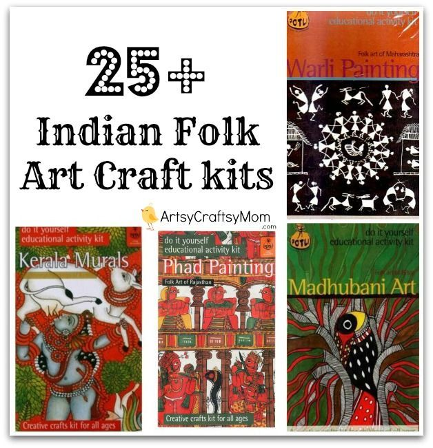 25+ Indian Folk Art Craft Kits and ideas