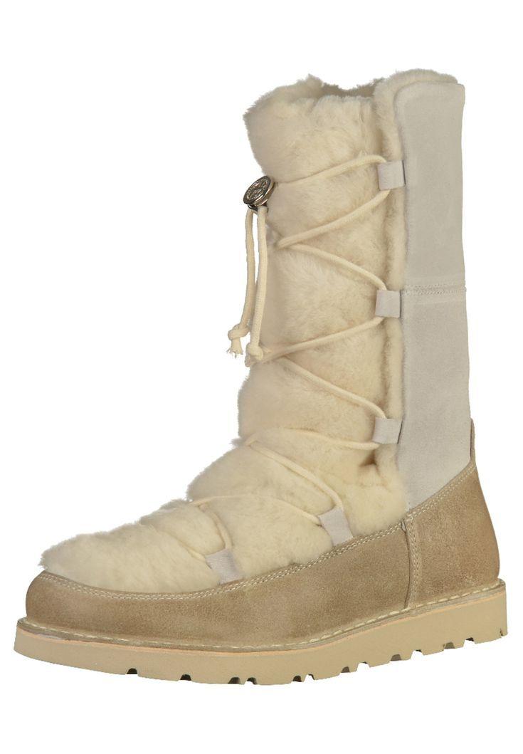 Stiefel Damen Absatz Birkenstock Beige Nuuk Schuhe O8nvmwy0N