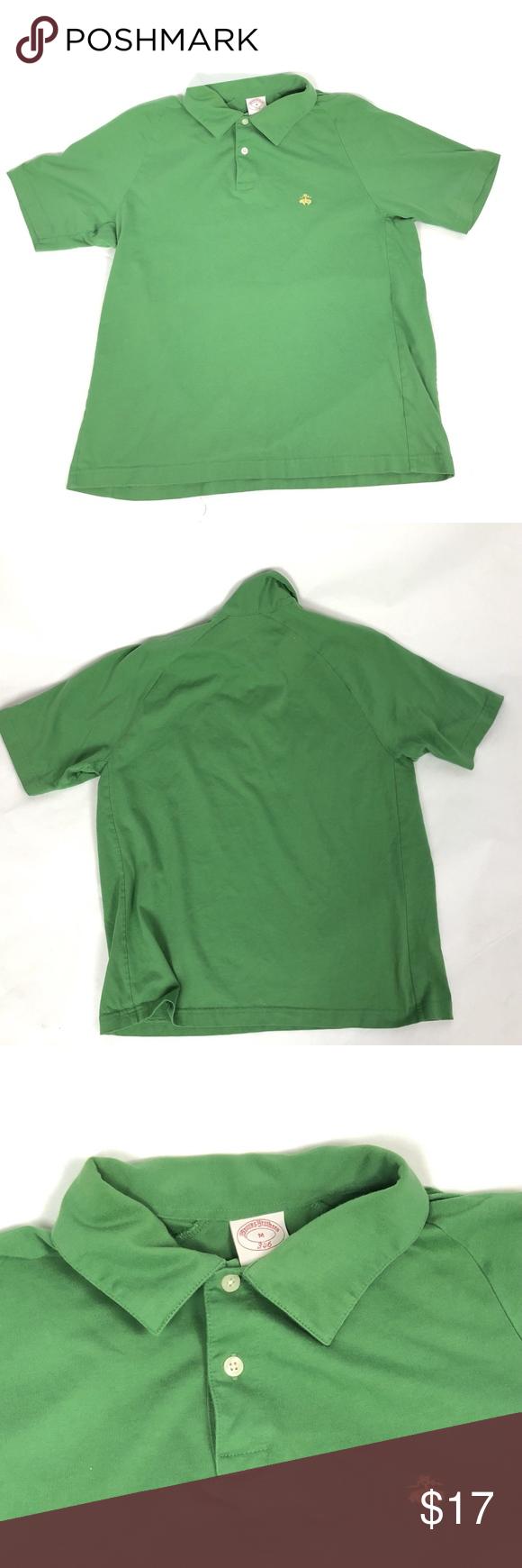 Brooks Brothers Men Green Polo Shirt Sheep Logo My Posh Closet