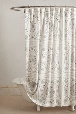 Anthropologie Kyoto Shower Curtain