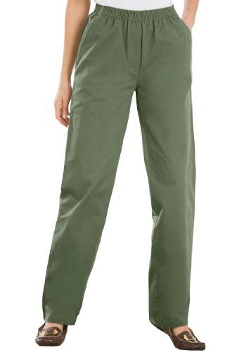 e5b8c00b21cda Only Necessities Women s Plus Size Tall Pants In Twill for only  29.77 You  save   5.00 (14%)