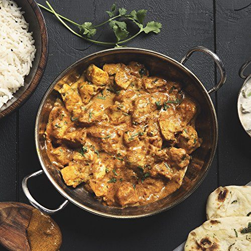 Chicken Tikka Masala with Basmati Rice, Raita and Naan Bread by Chef'd (Dinner for 4)