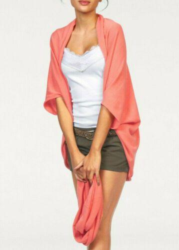 online retailer 3833b e9528 ajc #Damen #Sommer #Cardigan #Strickjacke mit #Loop-Schal ...
