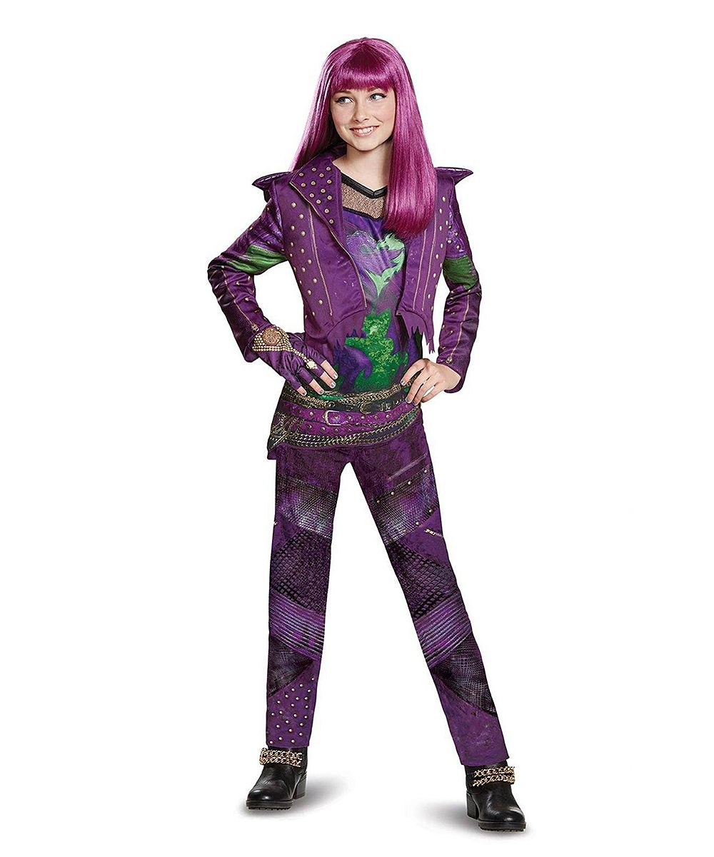 disney descendants 2 mal deluxe dress up set girls. Black Bedroom Furniture Sets. Home Design Ideas