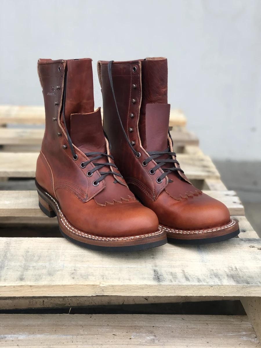 White S Nomad Size 10 5d Baker Shoes Custom Boots Shoe Company [ 1200 x 900 Pixel ]