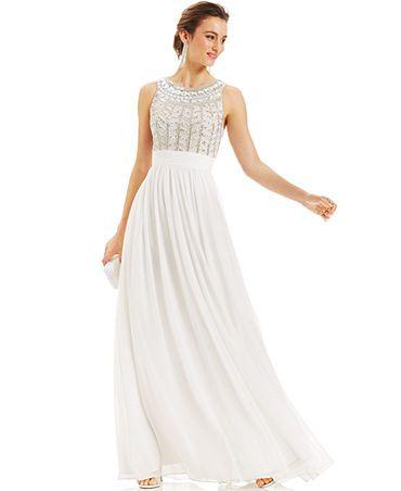 c24bfe460c $299 JS Collections Dress from Macy's #wedding #gown  #affordableweddingdress #cheapweddingdress