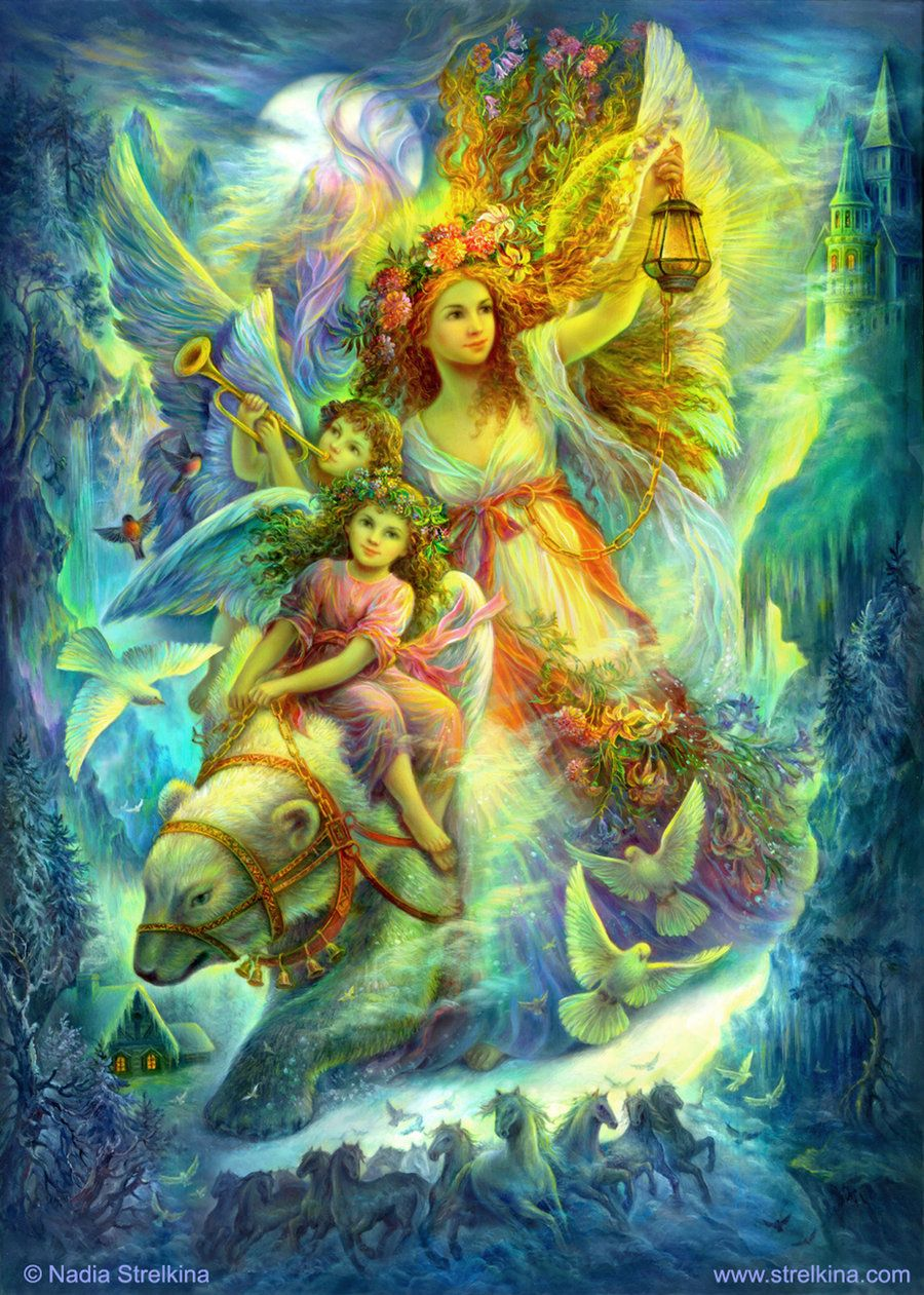 From the Heavens to the Earth by Fantasy-fairy-angel on DeviantArt ...
