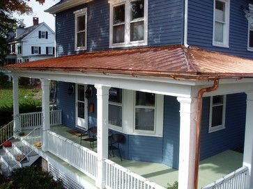 Copper Roof Exterior Copper Roof House Metal Roofs Farmhouse Copper Roof