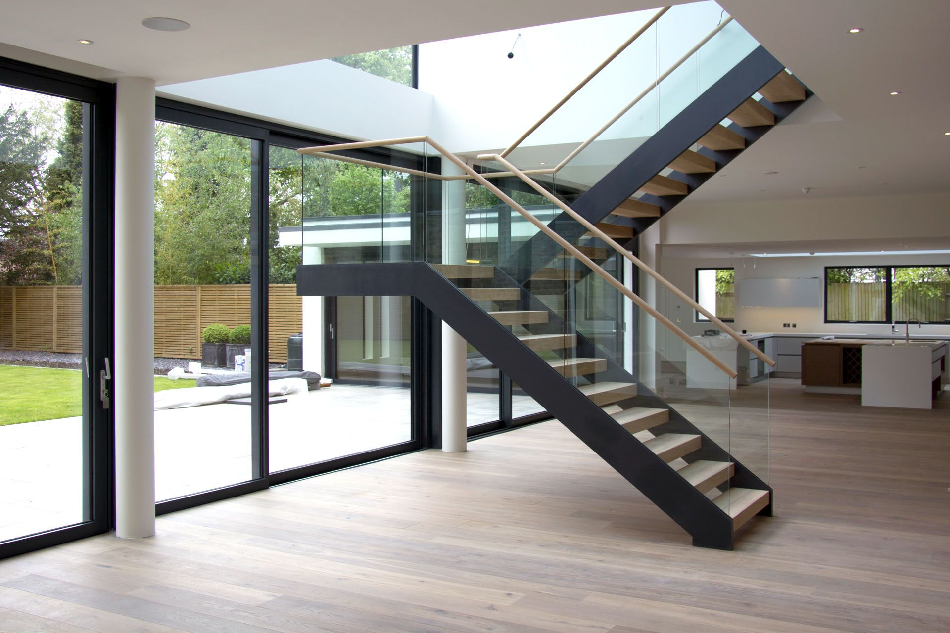 Best Coach House Cantilever Staircase Project Modern 400 x 300