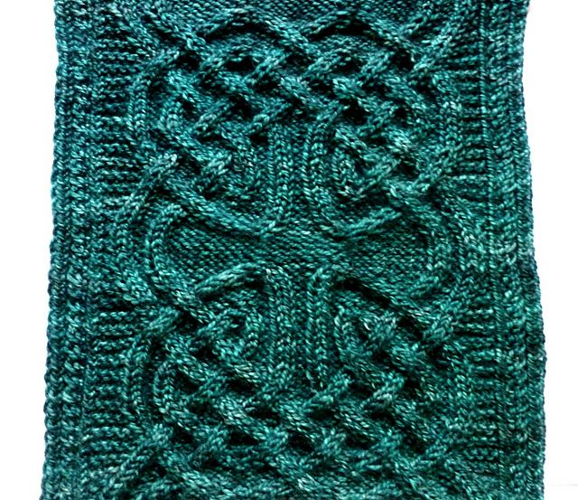 Nennir pattern by Lucy Hague | knitting | Pinterest | Celta, Cable y ...