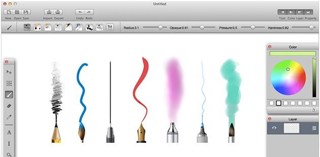 MyBrushes paint for Mac app is the best Mac paint software to ...
