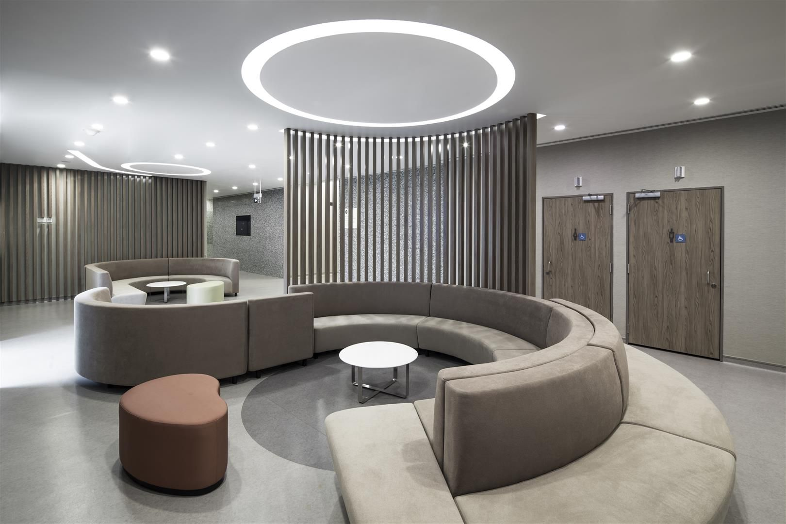 Seating Area At The Farrer Park Hospital Singapore By Dp