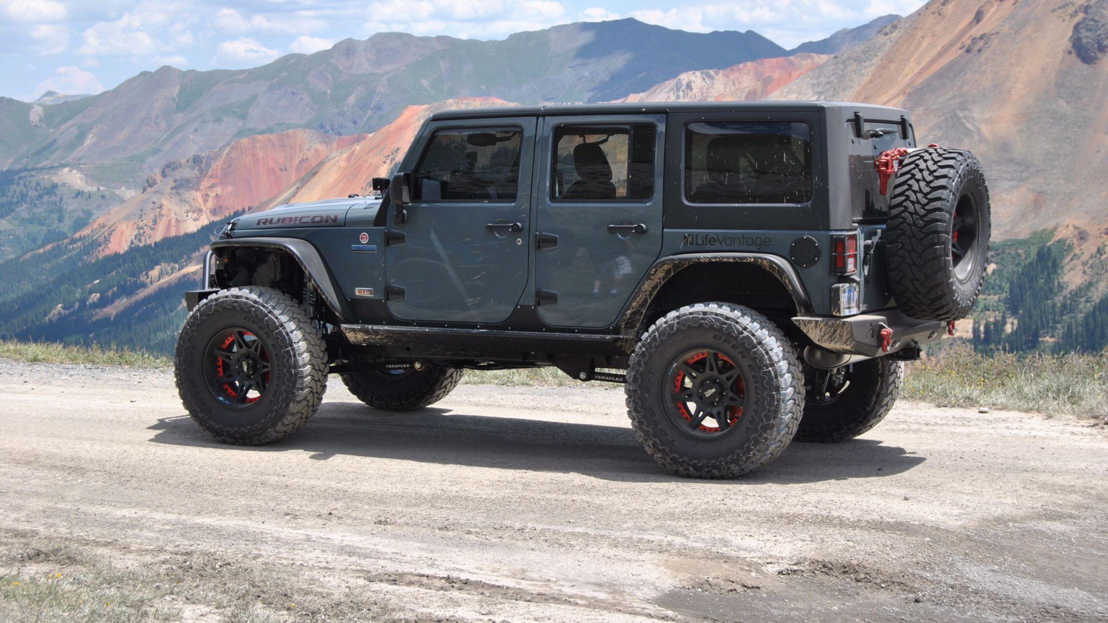 2013 Jeep Wrangler Rubicon Anniversary Edition Anvil Color Black