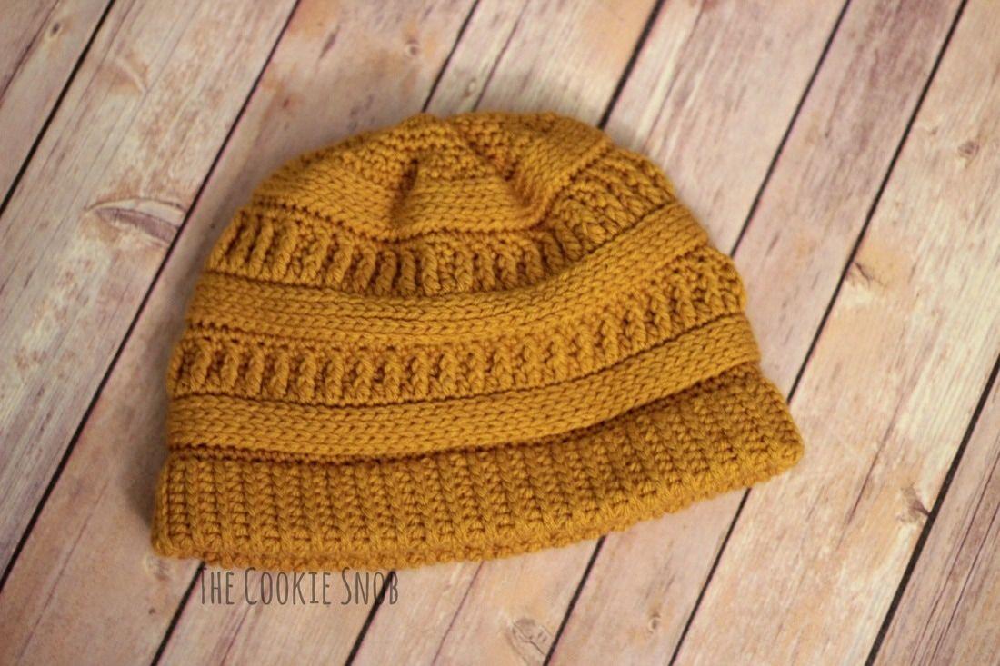 Crochet Beanie Free Pattern | crochet hats | Pinterest | Gorros