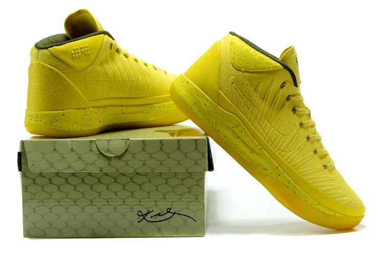 """check out 8345a f85fd Nike Kobe A.D. Mid """"Optimism"""" Yellow 922482-500 Free Shipping"""