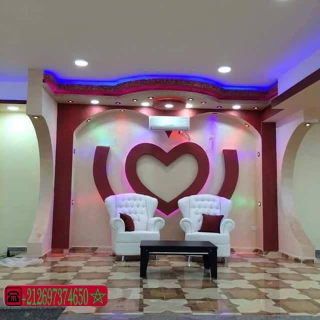 ديكورات الجبس العصري المغربي اشغال الجبس والديكور المنزلي Wall Showcase Design Pop Ceiling Design House Ceiling Design