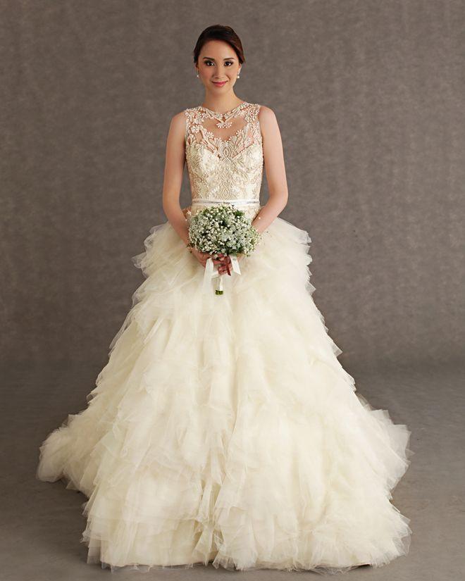 Gorgeous Veluz Reyes Wedding Dresses | Wedding dress, Bridal ...