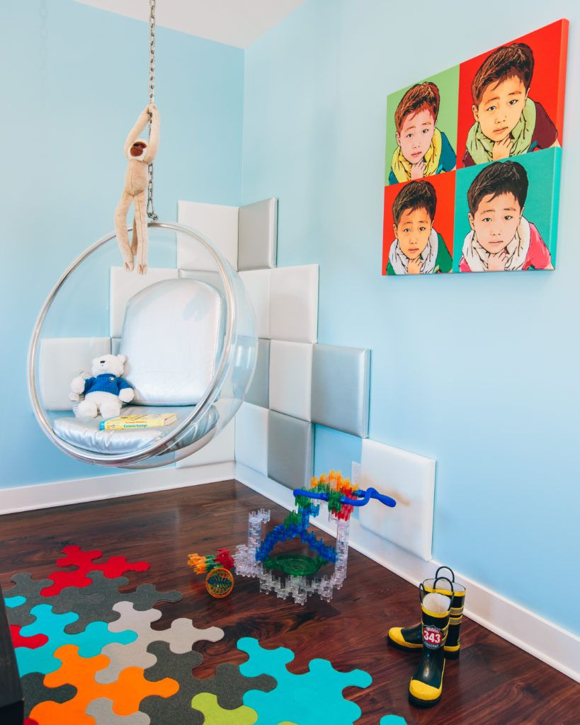 In The Big Kids Room With What S Up Moms Brooke Mahan Project Nursery Big Kids Room Modern Kids Room Kids Rooms Shared