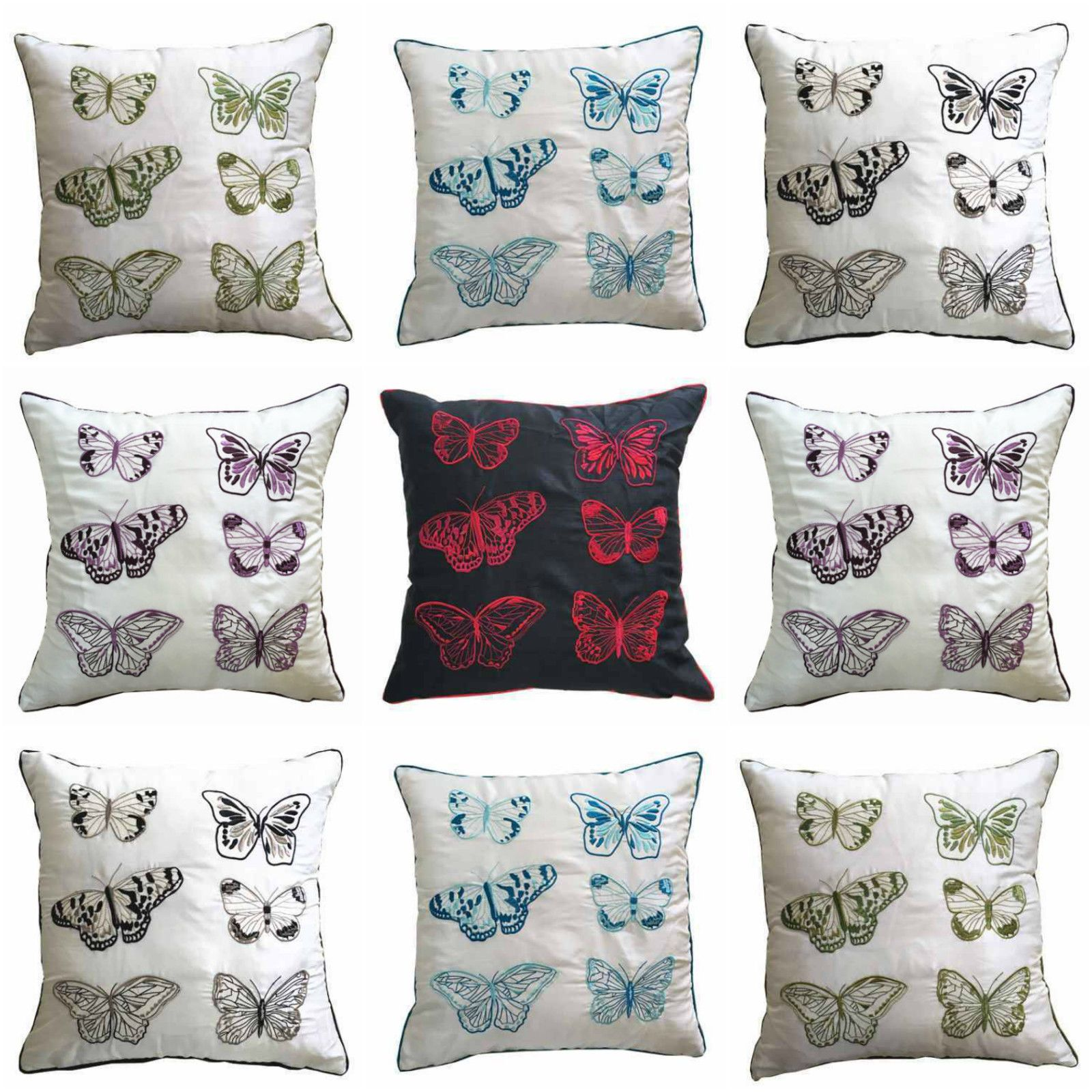Enchanted butterflies cushion cover u linens range bedding in