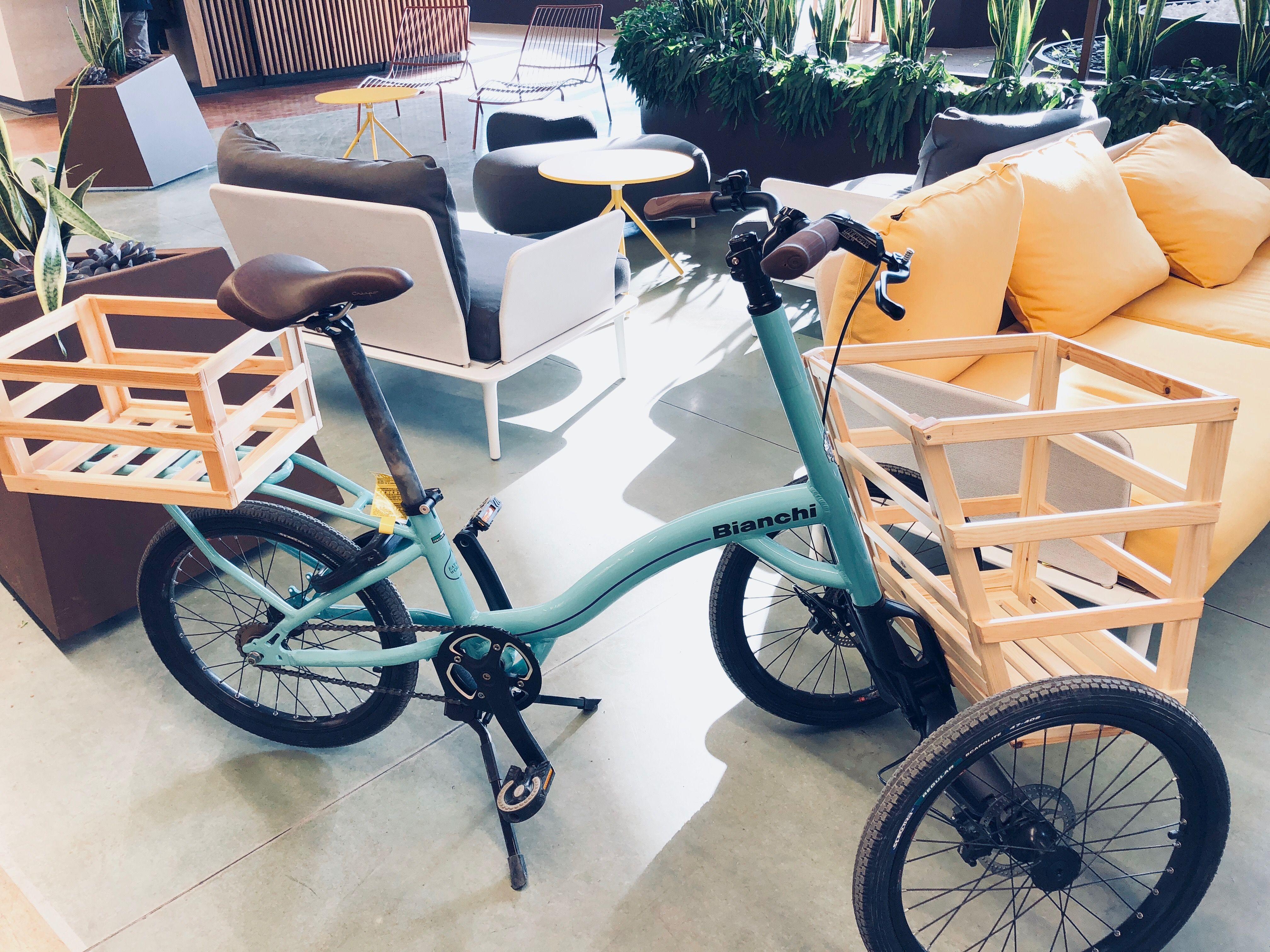 Bianchi Always Cargo Bikes Bicicletta E Cibo