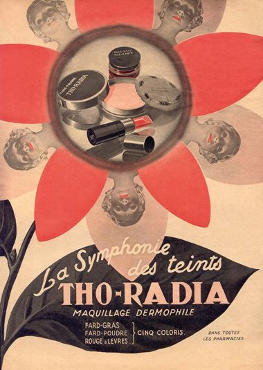 In 1933, Alexis Moussali and Alfred Curie (not related with Pierre and Marie Skłodowska-Curie) launched a line of radioactive beauty products called Tho-radia.  - 10 Radioactive Products That People Actually Used  Best of Web Shrine