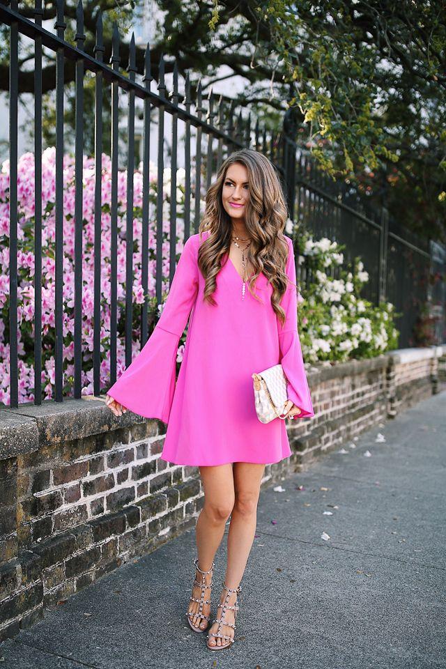 Hot Pink...   Vestidos de moda para mujer, Moda para mujer y Para ...