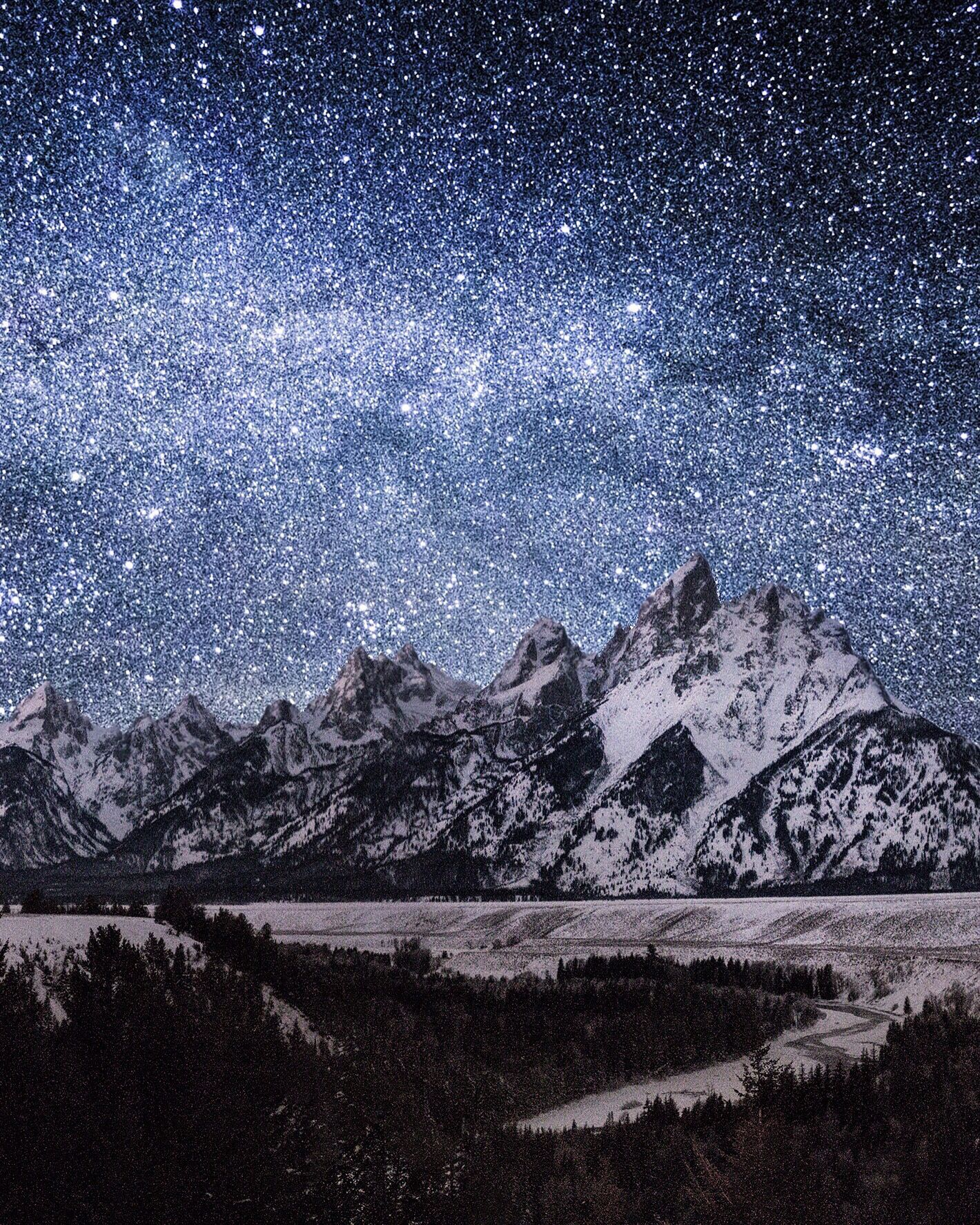 snake river overlook. grand tetons. wyoming. This ...