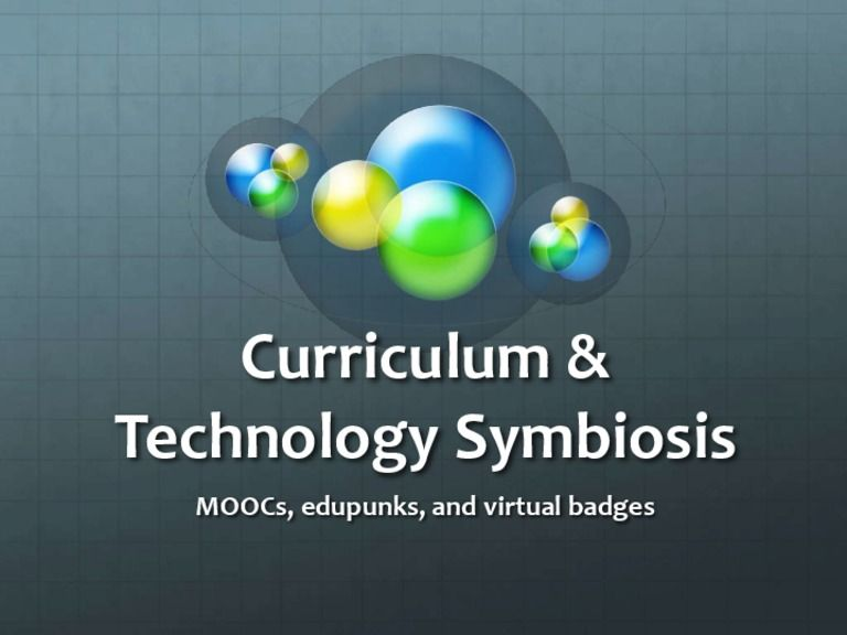 Curriculum Technology Symbiosis By Cuyahoga Community College