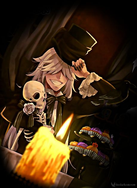Undertaker's Madness • thedarkestcrow: Chapter 109 – Halloween Cover:...