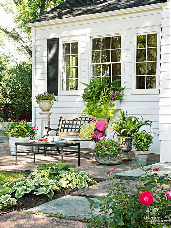before and after cottage garden makeover