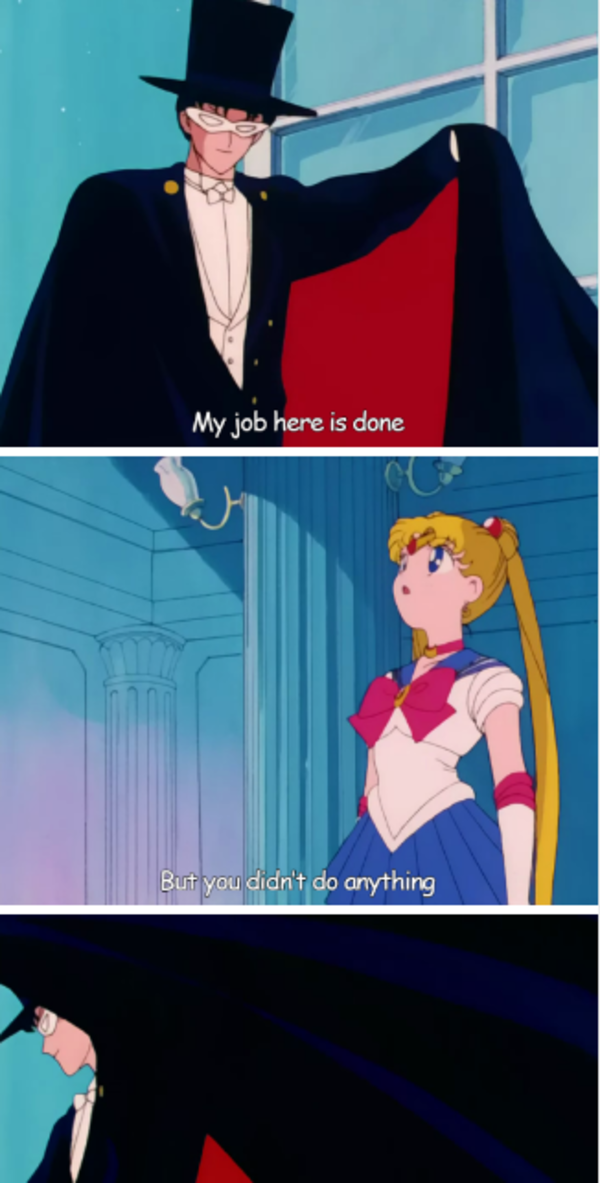 Original My Job Here Is Done Sailor Moon Tumblr Funny Funny Pictures
