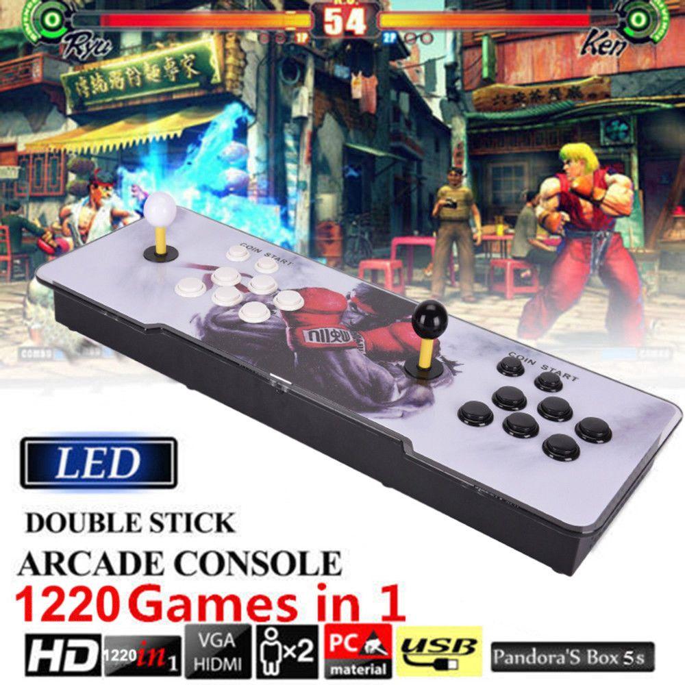 1220 in 1 Video Games Arcade Console Machine Double Stick
