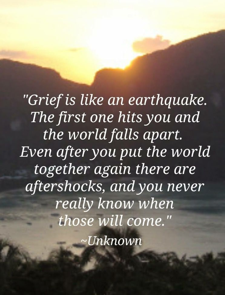Grief You Never Know When It S Going To Hit You Grieving Quotes Grief Poems Grief