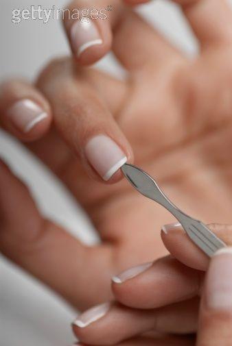 Love A French Mani On A Short Natural Nail Short Natural Nails Nail Care Tips Nail Care