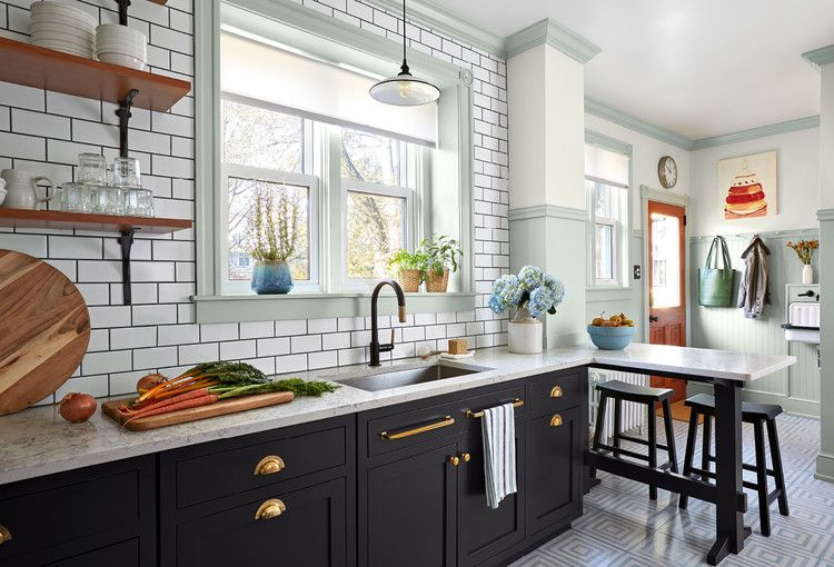 Get A Glimpse Of A Semi Open Kitchen Design This Old House In