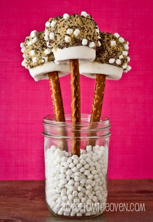 Over The Top S'mores Pops by Love From The Oven