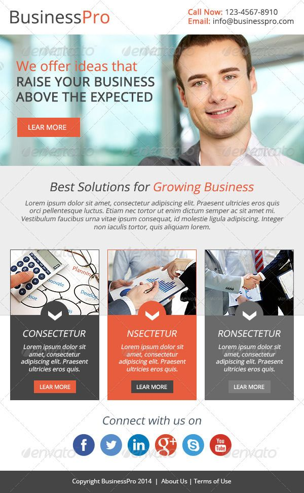 Corporate Newsletter Template Brilliant Psd Corporate Flyer