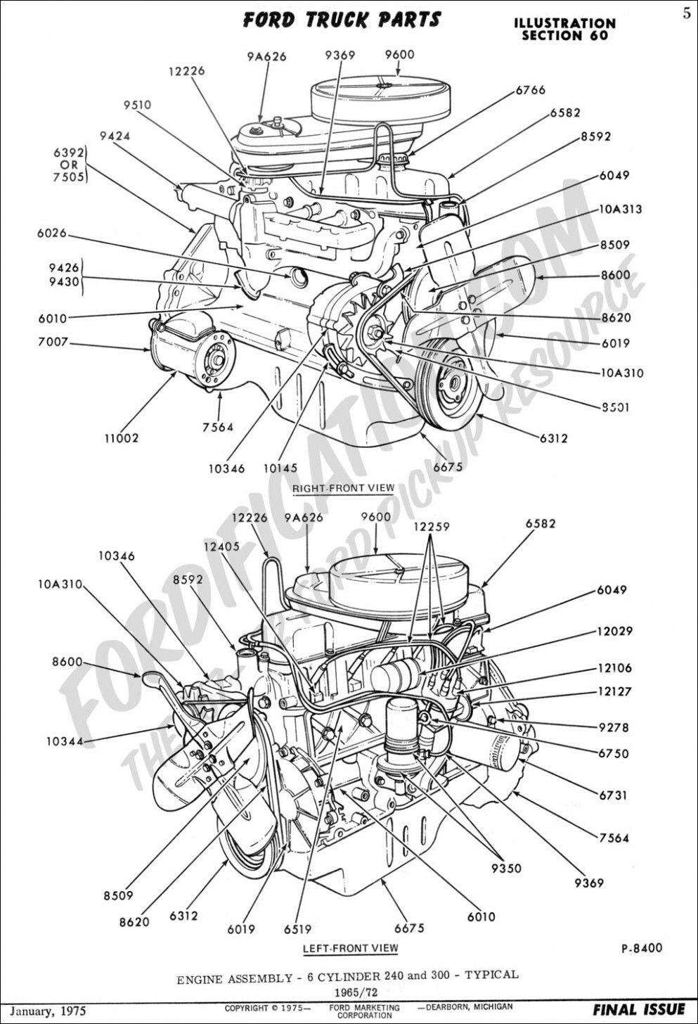 Engine Turbofan Diagram Ford