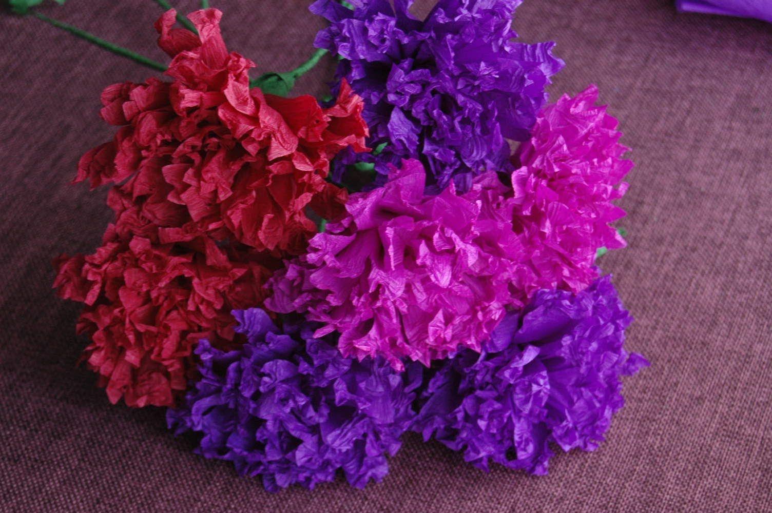 Kwiaty Z Bibuy Paper Crepe Flowers Diy Kwiaty Z Bibuy