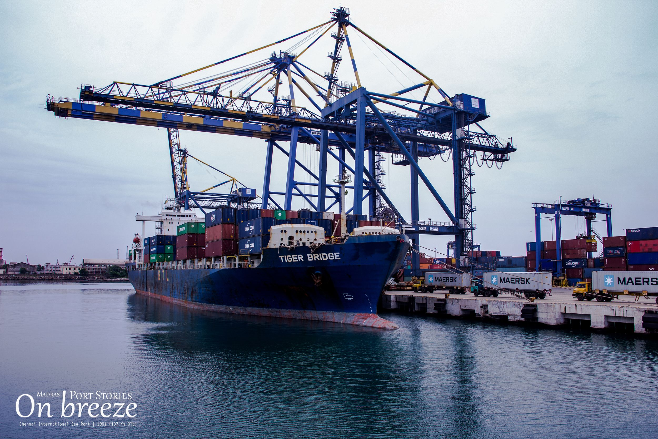 Chennai port was established in 1881 (137 years) | Madras