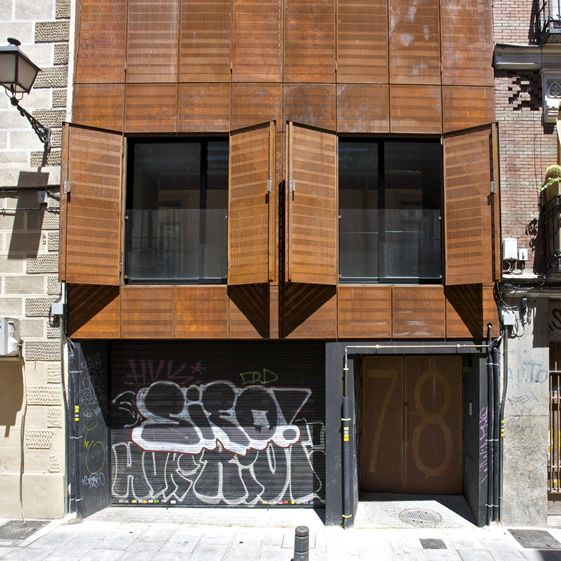 Madrid Apartment Façade