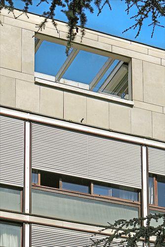 La fondation suisse (Cité internationale universitaire de Paris) Le Corbusier