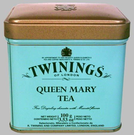 Twinings Queen Mary Tea Tin