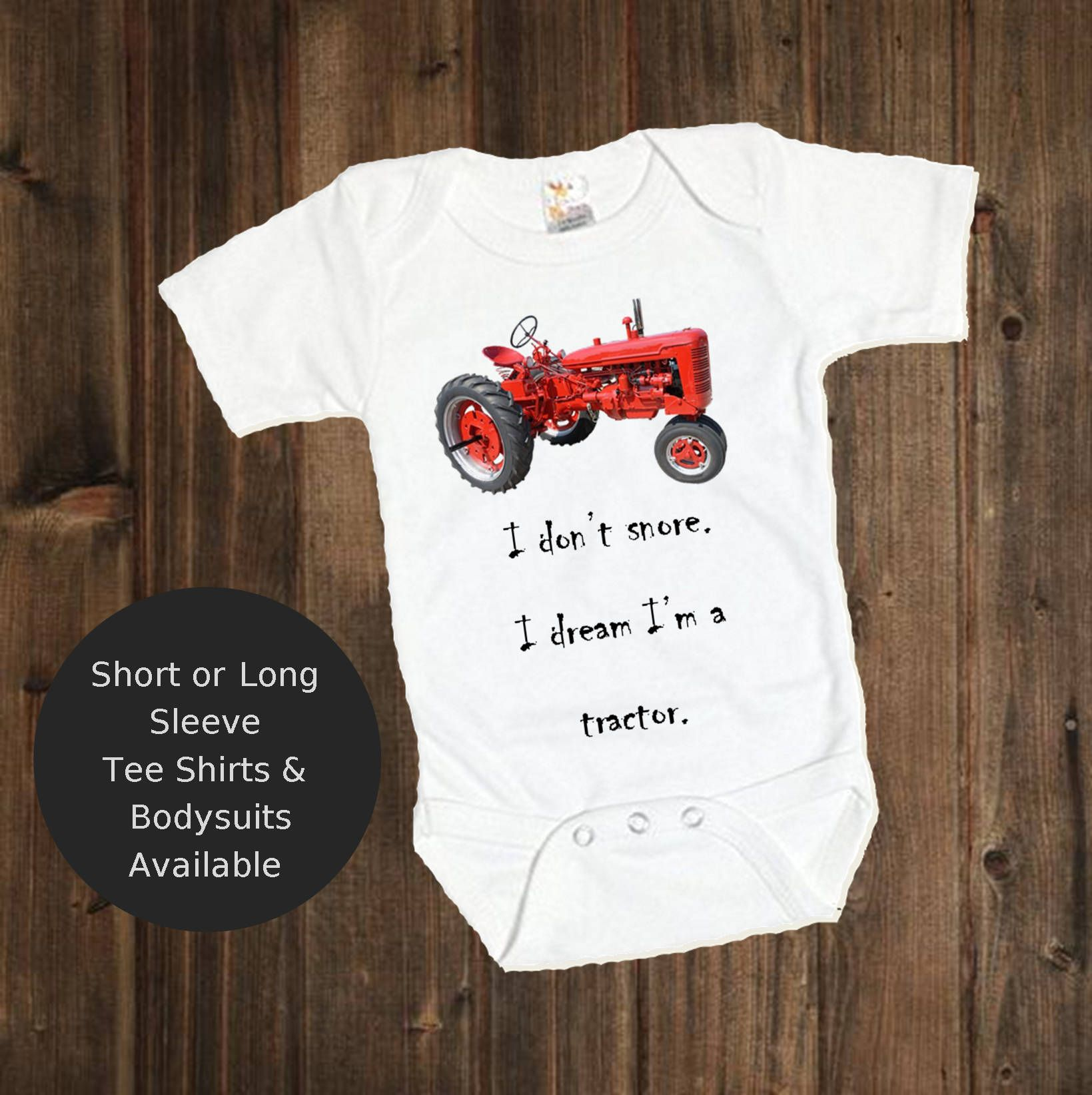 Funny Baby Grow REAL BOYS GO HARVESTING Vest Farmer Clothes Body Suit